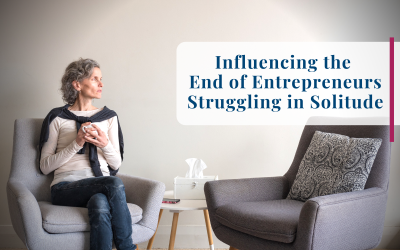 Influencing the End of Entrepreneurs Struggling in Solitude